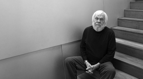 Baldessari at his studio. Photo by Tyler Hubby.