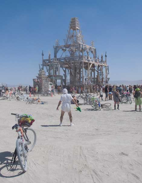 Michael Smith Burning Man Burning Man of Love