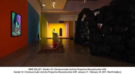 Mike Kelley at Gagosian Gallery, Beverly Hills