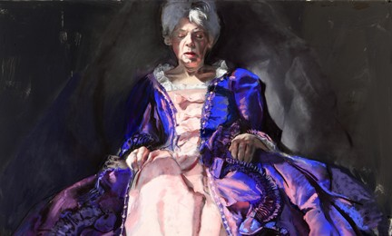 Gaela Erwin, Purple Dress, 2012, Courtesy of the artist, Photo: Geoff Carr