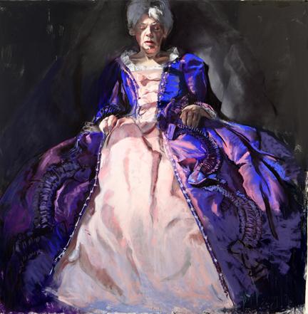 Gaela Erwin, Purple Dress, 2012, Courtesy of the artist, Photo: Geoff Carr