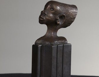 Charles H. Tatum, Head of a Young Maiden, 1996