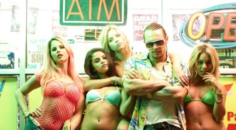 Bad girls with bikinis and Franco, courtesy of A24