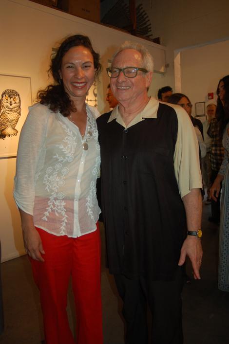 Eleana Del Rio and Robbie Conal