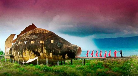 film still from The Act of Killing