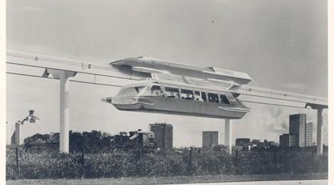 Goodell Monorail, 1963, Los Angeles County Metropolitan