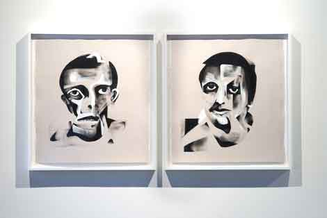Bill Maass Untitled Portraits Moskowitz Gallery: Inaugural exhibition