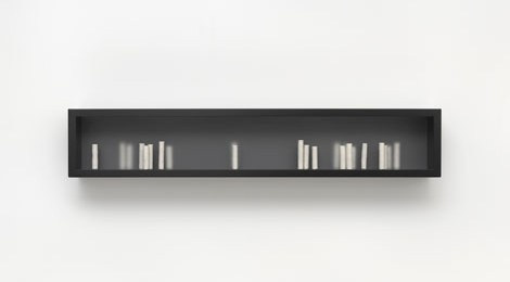 Edmund de Waal, your hand full of hours, 2013, © Edmund de Waal. Courtesy Gagosian Gallery. Photography by Mike Bruce