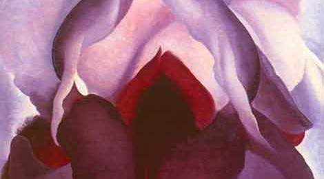 "Georgia O'Keeffe, from the ""Flower of Life II"" series"