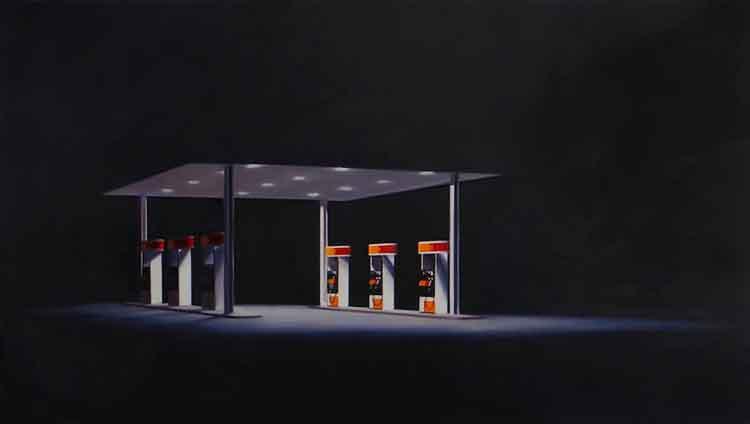 """Eric Nash, 7-9-11, 2013, oil on canvas, 48"""" x 84"""""""