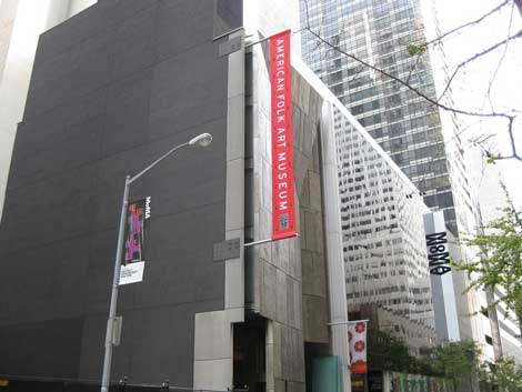 American Folk Art Museum large Massacre on 53rd Street