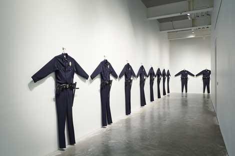 Chris Burden, L.A.P.D. Uniforms, 1993