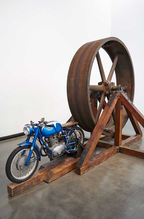 Chris Burden, The Big Wheel, 1979, The Museum of Contemporary Art, Los Angeles