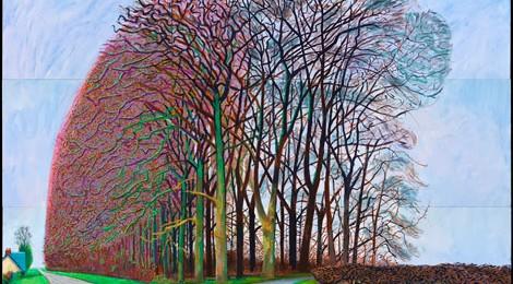 David Hockney, Bigger Trees Nearer Warter, Winter 2008, © David Hockney, Photo: Richard Schmidt