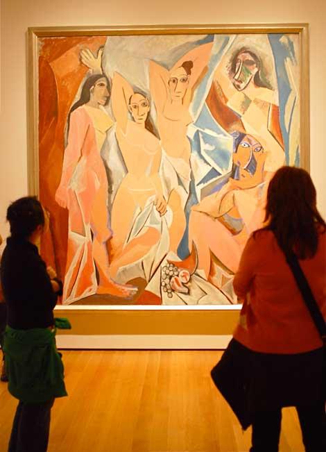 Picasso Demoiselles Massacre on 53rd Street