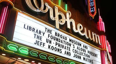 An Evening with Jeff Koons and John Waters