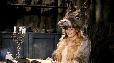Catherine Deneuve prepares to cast a spell