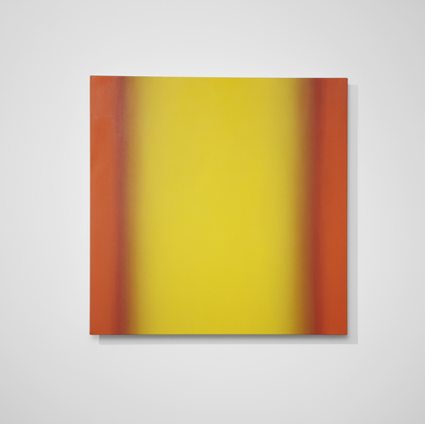 Ruth Pastine, Blue Orange 9-S4848 (Yellow Orange), Interplay Series, 2013.