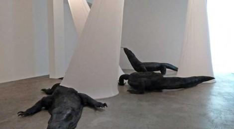 """Marisol Rendón, """"So Dragons Do Exist?"""" installation detail, courtesy  Luis De Jesus Los Angeles"""