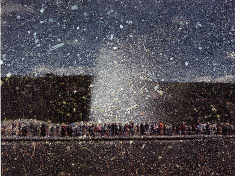 Abelardo Morell, Old Faithful Geyser, Yellowstone Natl Park, Wyoming, 2011