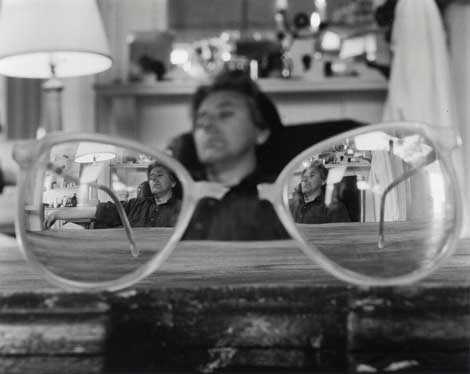Abelardo Morell, My Broken Glasses and Me, 1994