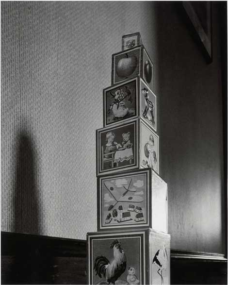 Abelardo Morell, Toy Blocks, 1987