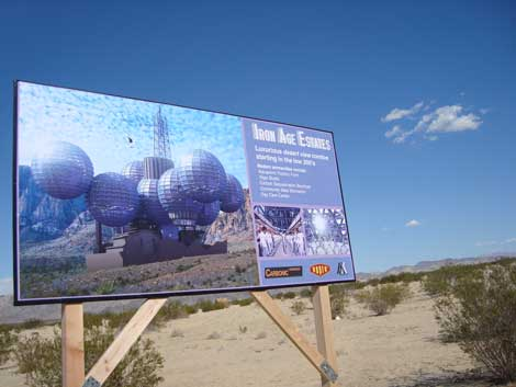 "Oliver Hess ""Iron Age Road Estates"" A faux advertising billboard"
