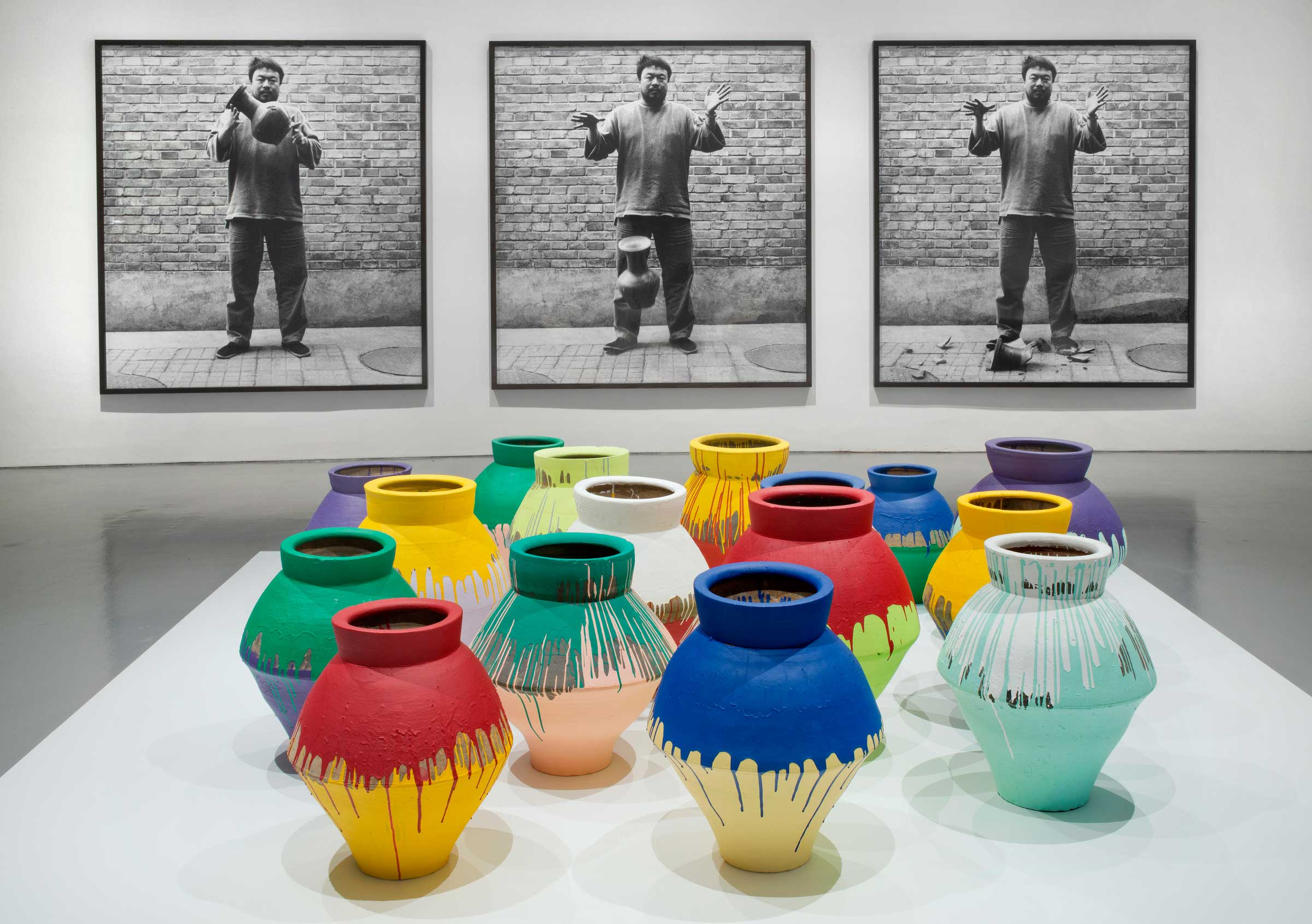 Ai weiwei according to what artillery magazine ai weiwei chinese b 1957 colored vases 200710 floridaeventfo Image collections