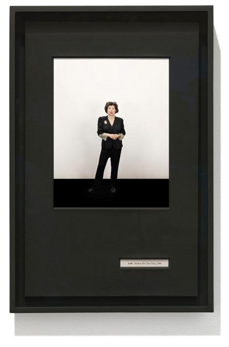 BotWI framed A 60 Tsai Chi copy Taryn Simon