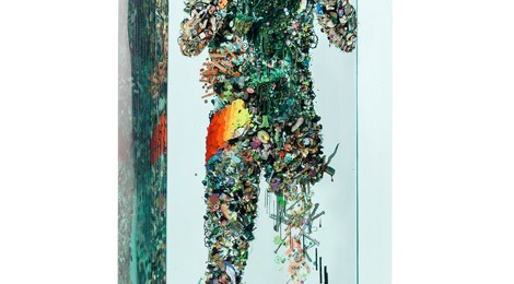Dustin Yellin, Psychogeography 43, 2014.
