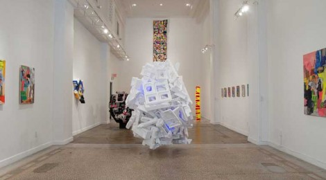 Jamie Scholnick's Redesigned, Repurposed, Re- everythinged, installation view, at CB1 Gallery
