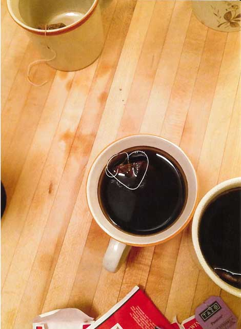 """""""My morning cup told me it was going to be a good day."""""""