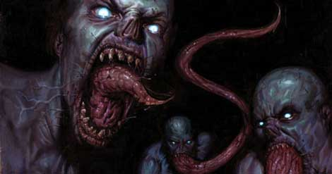 Tongue The Strain Vampires