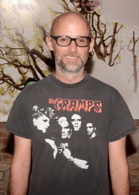 Moby at his opening