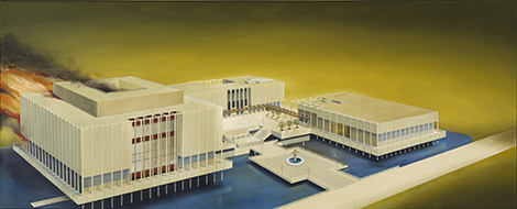 Ruscha Los Angeles County Museum on Fire Damage Control: Art and  Destruction since 1950