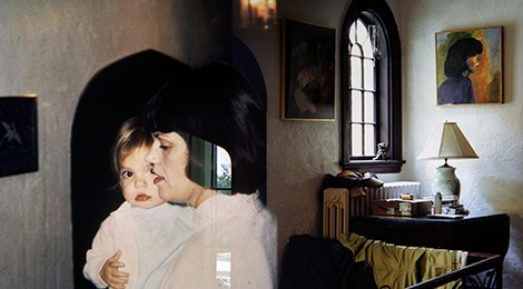 """Augusta Wood, """"Susan Front Hall (1979, 2012, 2012)"""", 2013. Courtesy of the artist and Angles Gallery, Los Angeles."""