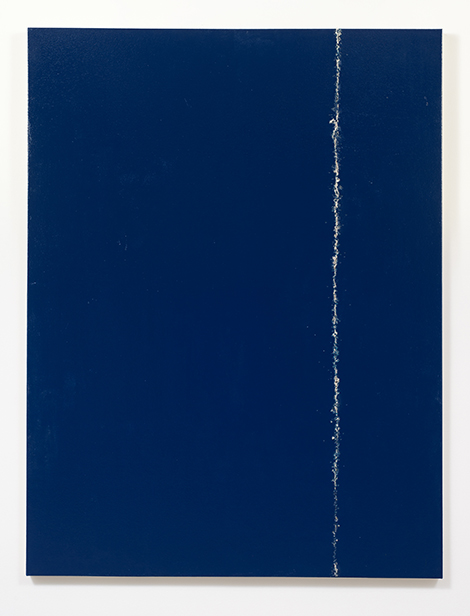 "Sean Duffy, ""Big Blue Tear"", 2014. Courtesy of Susanne Vielmetter Los Angeles Projects; Photo credit: Robert Wedemeyer."