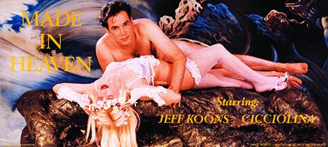 Jeff Koons, Made in Heaven, 1989. ©Jeff Koons