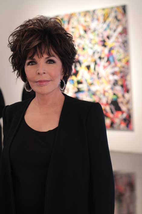 Carole Bayer Sager,opening night at William Turner Gallery