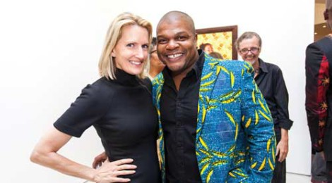 Julie Roberts, Kehinde Wiley at Roberts & Tilton