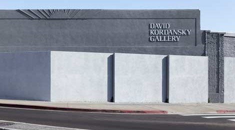 David Kordansky Gallery in Mid-Wilshire. Photo by Fredrik Nilsen, courtesy David Kordansky Gallery