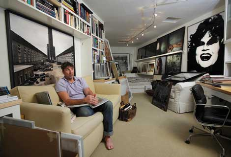 Loebach Amongst His Collection At His Home, 2011. Photo By © Tom Atwood,