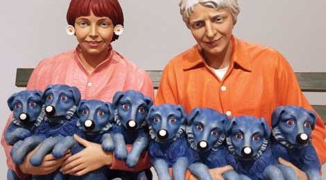 Jeff Koons, String of Puppies, 1988. © Jeff Koons