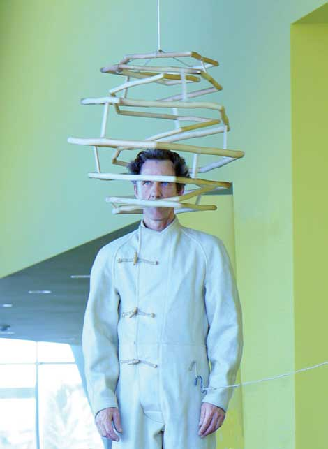 Ross Rudel, Nebulizer, 2013. Performed at Vincent Price Art Museum.