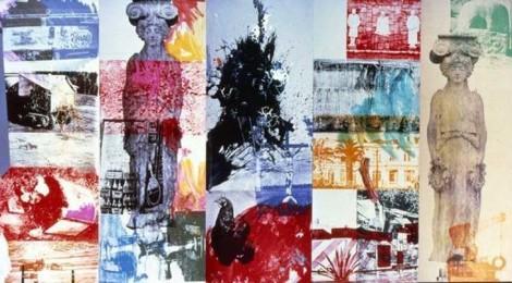 Robert Rauschenberg Caryatid Cavalcade I / ROCI CHILE, 1985  Robert Rauschenberg Foundation