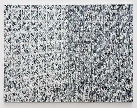 """Kevin Zucker, """"Claustra (blue)"""" (2014)"""