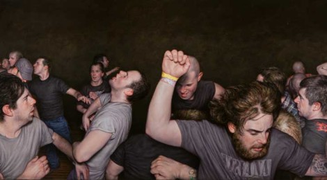 Dan Witz, Vision of Disorder, Frieze Triptych, 2013