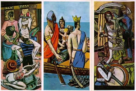 Max Beckmann, Departure, 1932-33; The Museum of Modern Art, New York