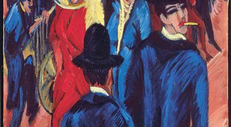 Ernst Ludwig Kirchner (1880–1938), Berlin Street Scene, 1913, from Neue Galerie/Private Collection