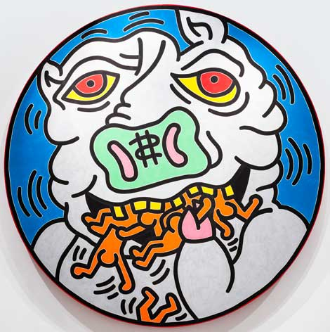 Keith Haring (1958–1990) Untitled, 1988, Collection of the Keith Haring Foundation © 2014, Keith Haring Foundation